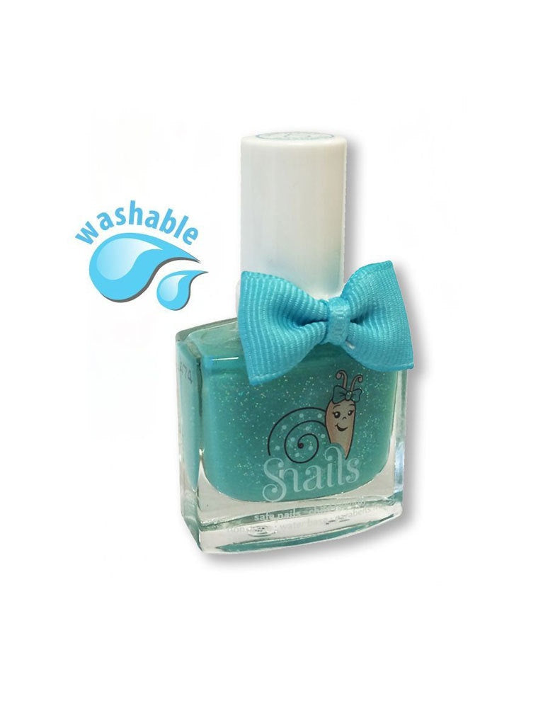 snails nail polish splash lagoon