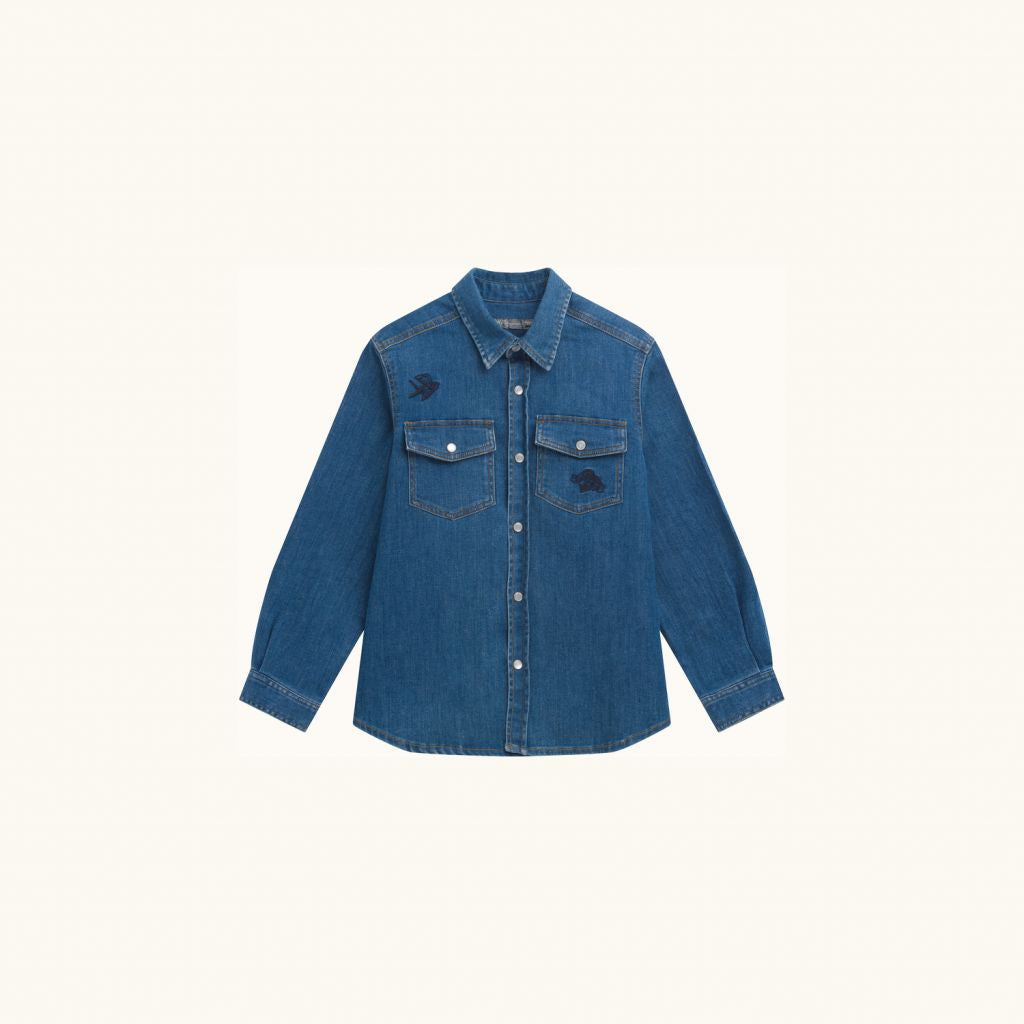 ELDORADO SHIRT LIGHT DENIM