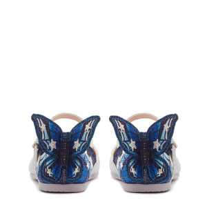 Chiara Silver & Midnight Blue