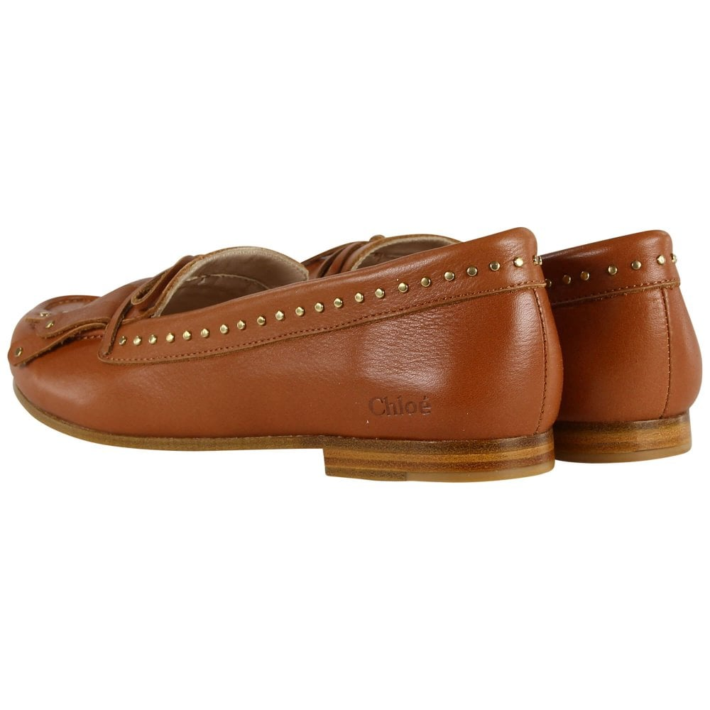 LOAFER SHOES BROWN
