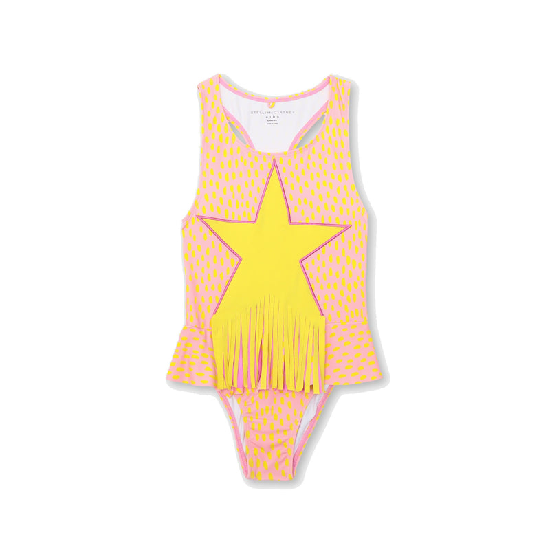 FRINGED STAR SWIMSUIT