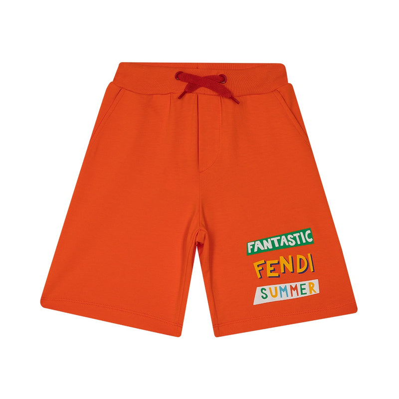 'FANTASIC FENDI COLORS' JOGGING SHORTS