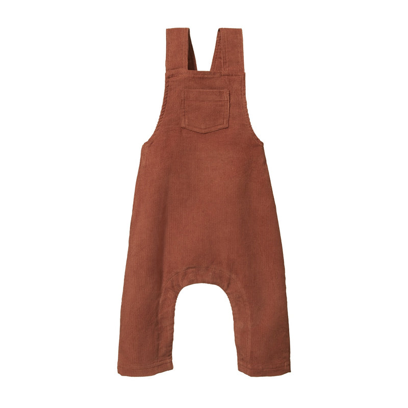 CORD FINLEY OVERALLS CLAY
