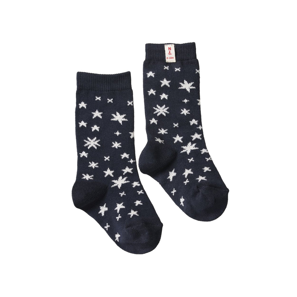 ORGANIC COTTON SOCKS STARS