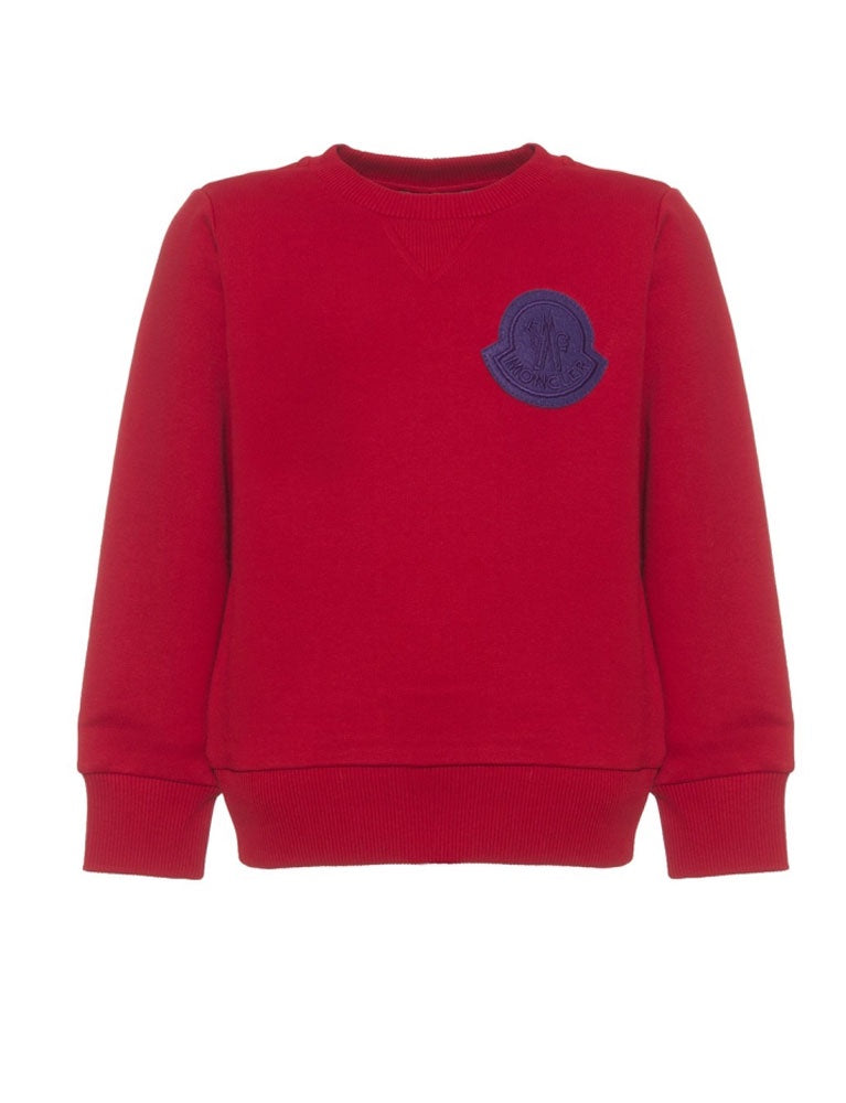 MAGLIA GIROCOLLO ROUND NECK JUMPER IN RED