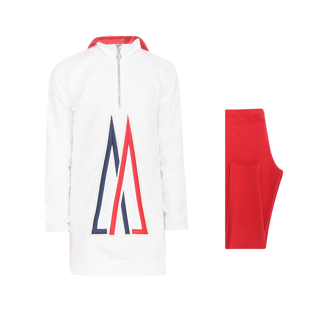 SET HOODED JUMPER+TROUSERS