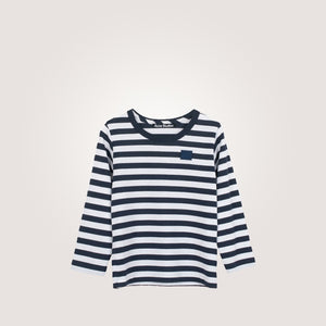 Mini Nash Striped LS T-shirt Navy