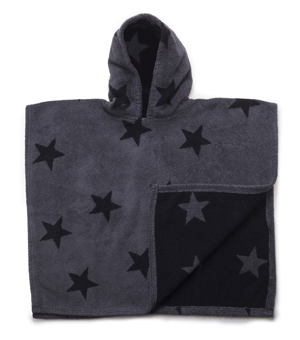 STAR PONCHO LARGE