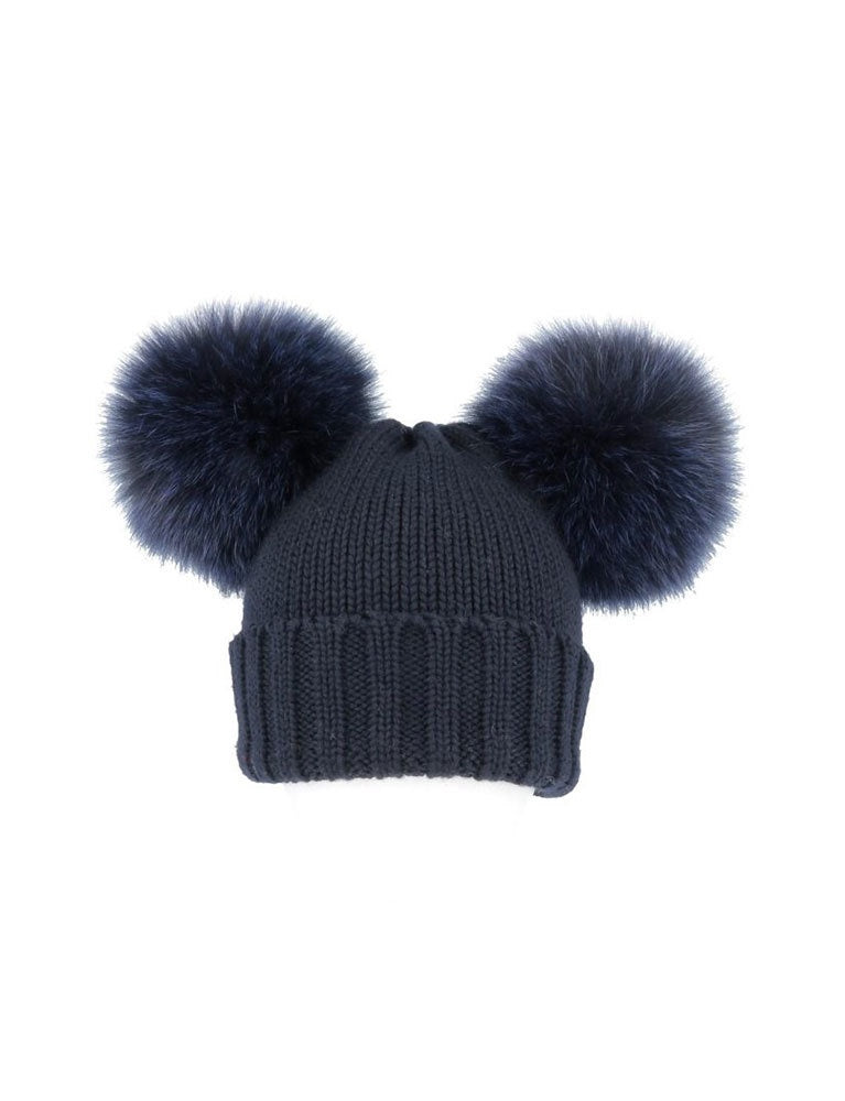 regina 2 tapiro cuffia coste-hat in navy