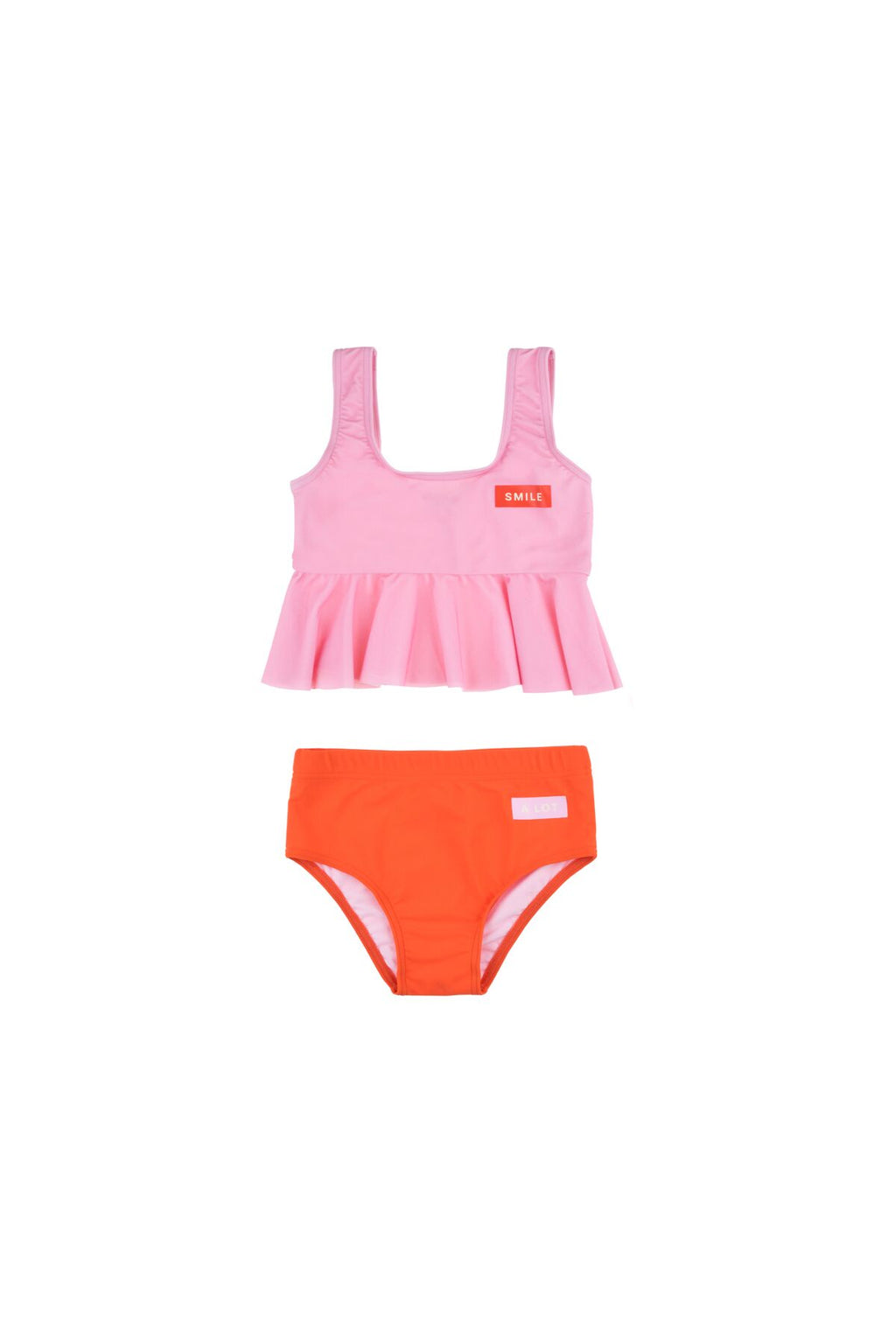 SMILE FRILL SWIM SET