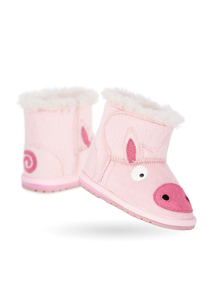 EMU PIGGY WALKER IN PINK