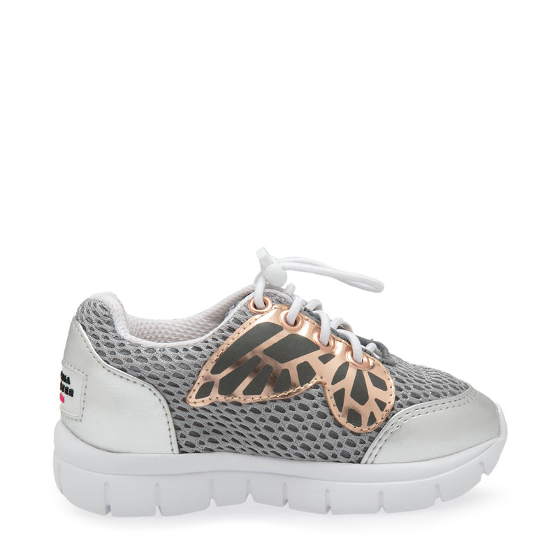 Chiara Sneaker Mini Silver & Rose Gold