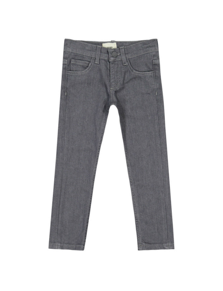 GREY MONSTER EYE JEANS