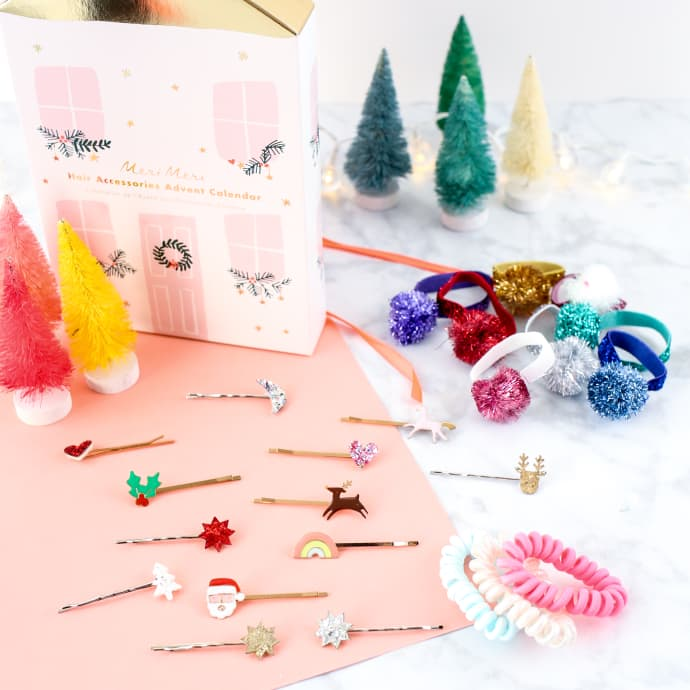 Hair Accessories Advent Calendar