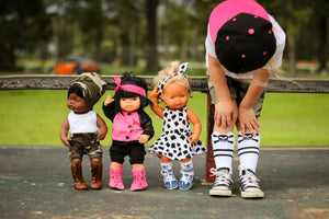 Land of Mini, Modern original doll clothing and accessories. For dolls who don't like to conform.