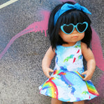 Mini Twirl Dress -Rainbow Dreams