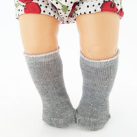 Mini Grey Socks