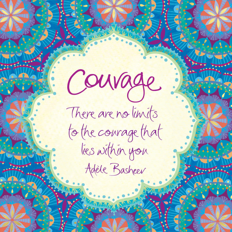 Intrinsic Courage Quote Digital Wallpaper Downloads