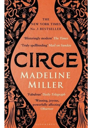 Intrinsic Book Recommendations Circe by Madeline Miller