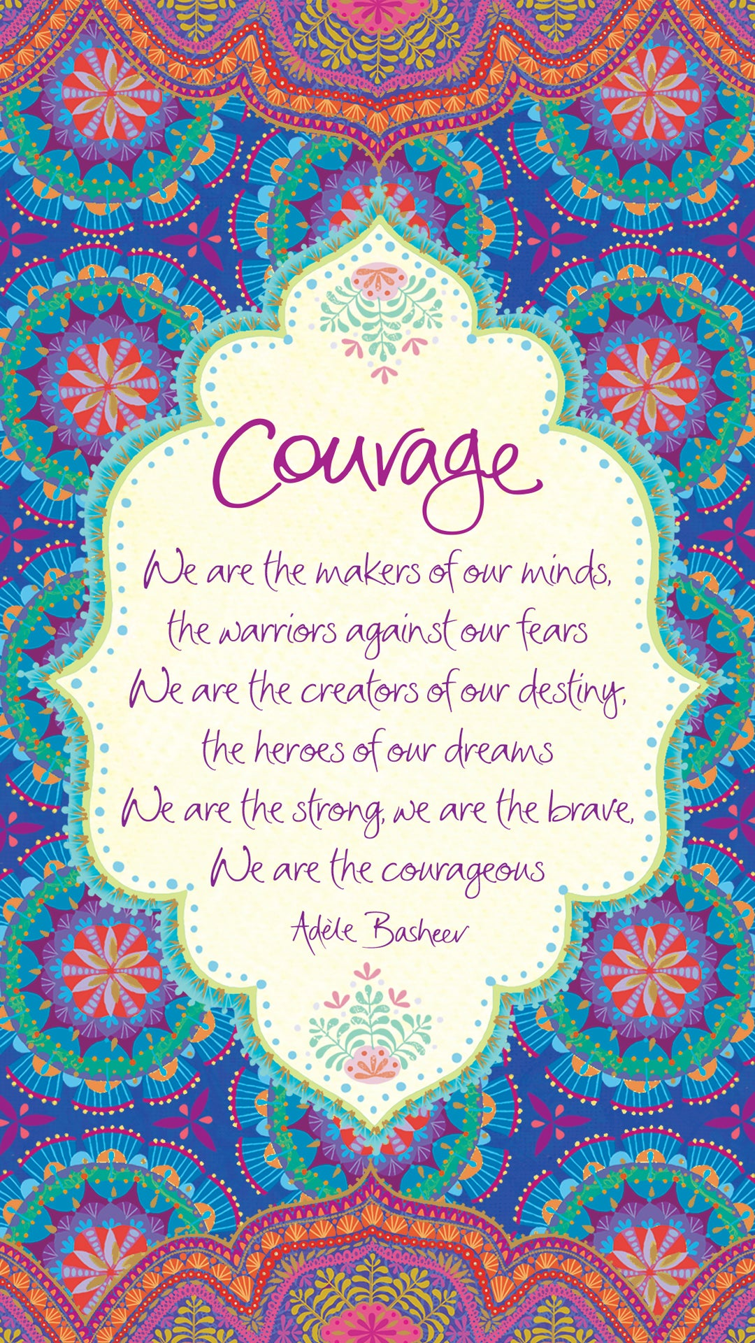 Intrinsic Courage Quote
