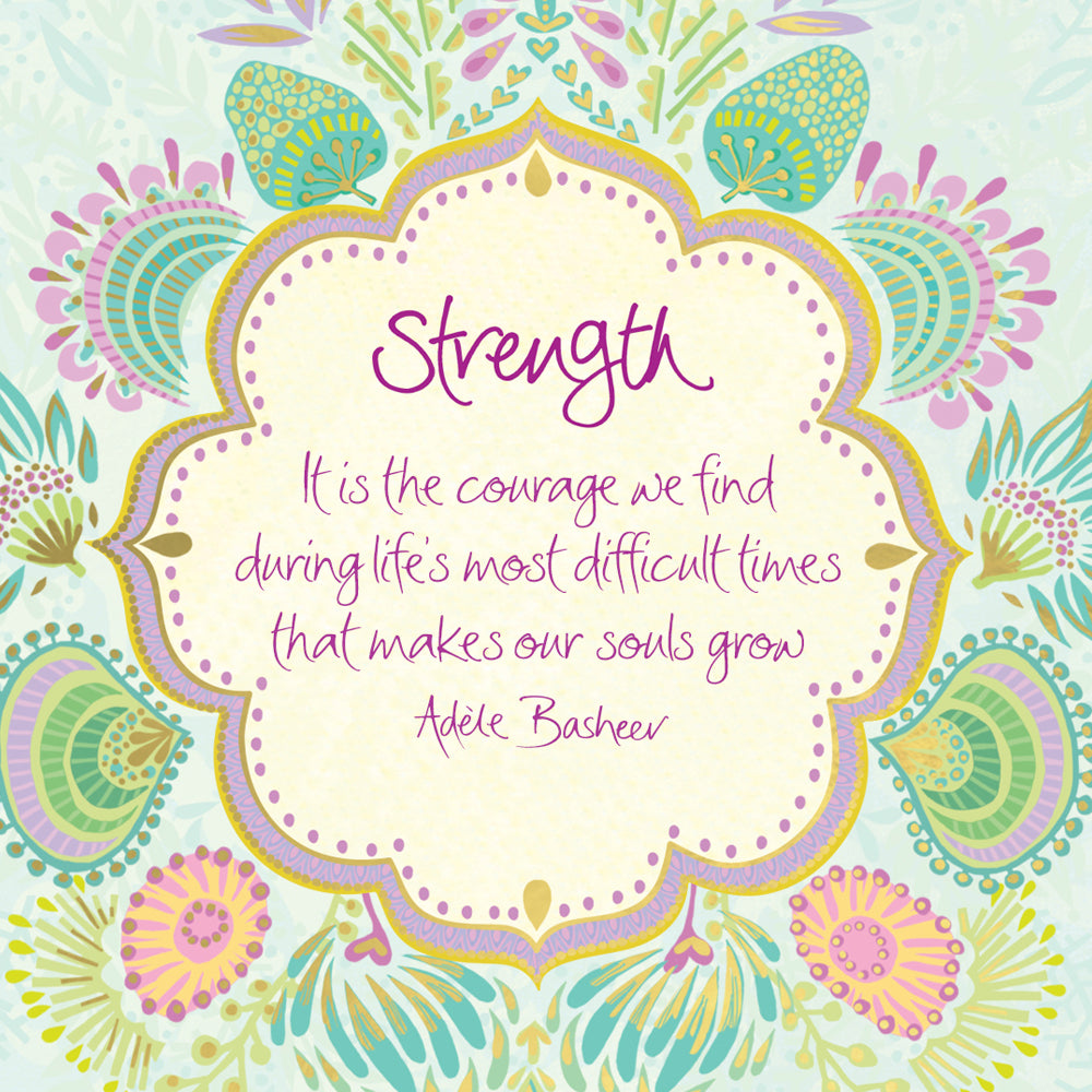 Intrinsic Strength Quote by Adèle Basheer - Free Wallpaper Download