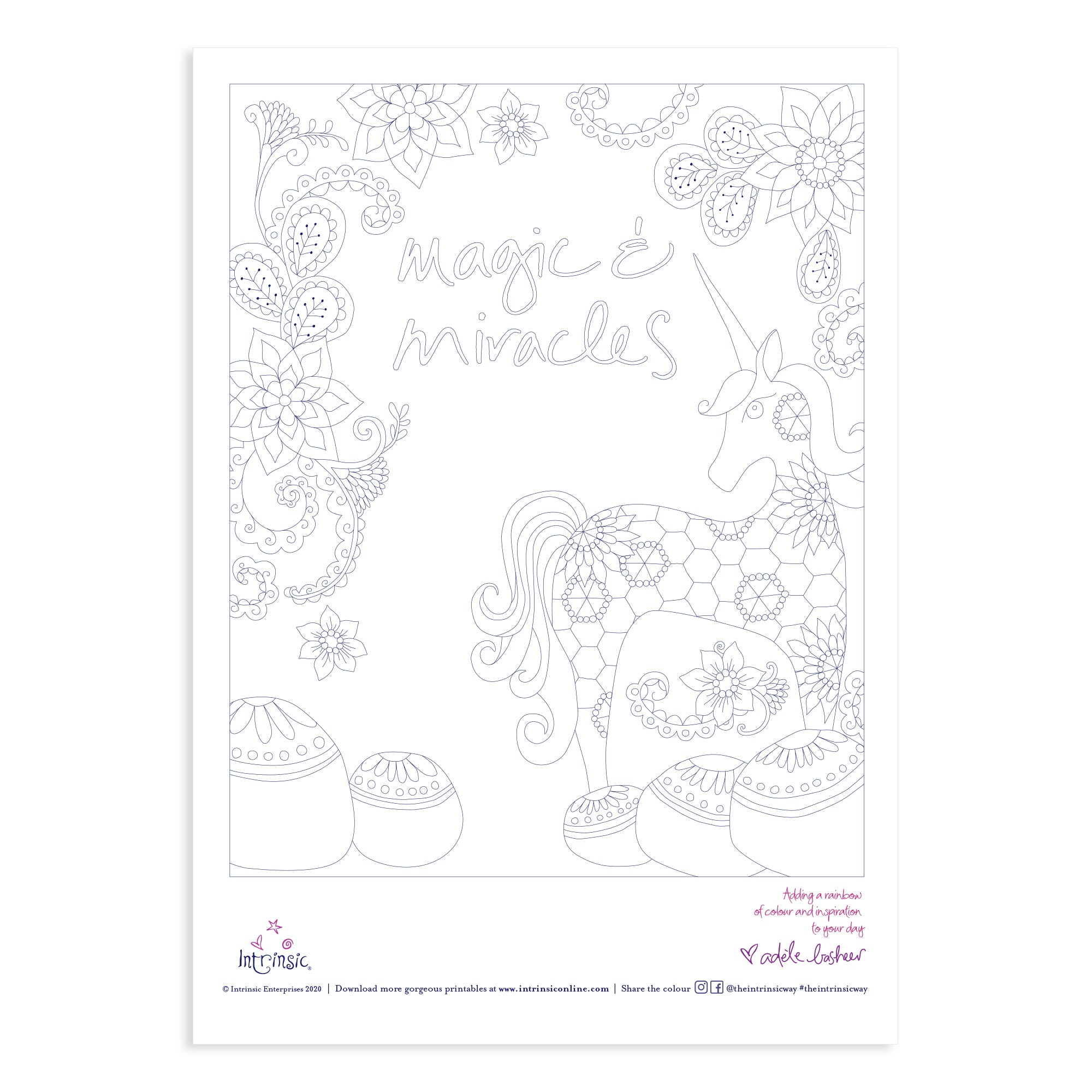 Intrinsic Colouring In Printable #14