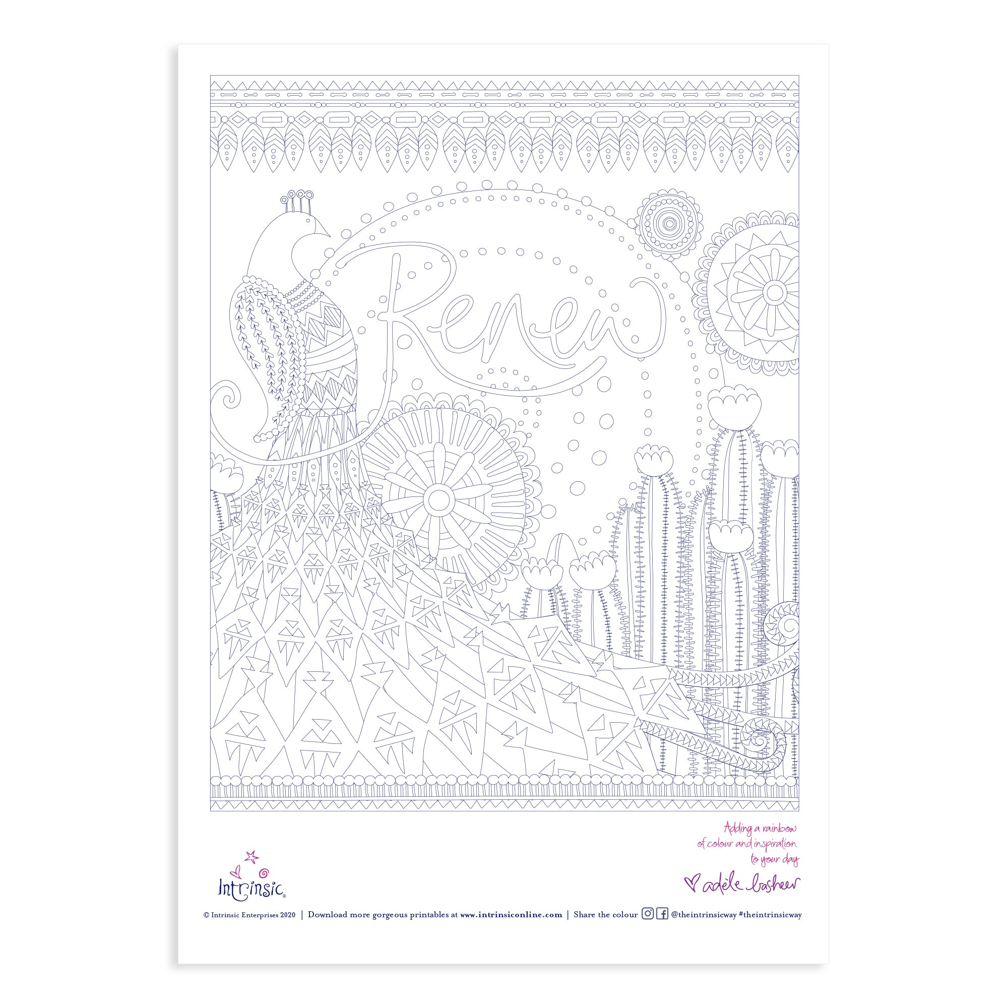 Intrinsic Renew Colouring In Printable #28