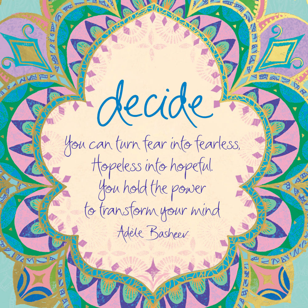 Intrinsic Decide Quote by Adèle Basheer - Free Digital Wallpaper Download