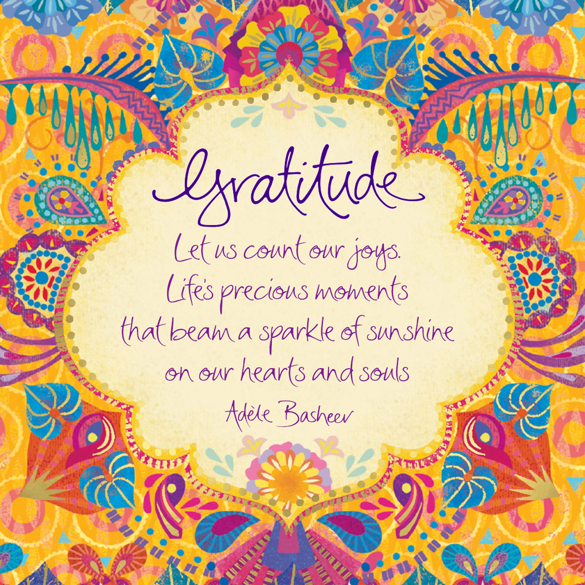 Intrinsic's Gratitude Quote - Free Digital Wallpaper