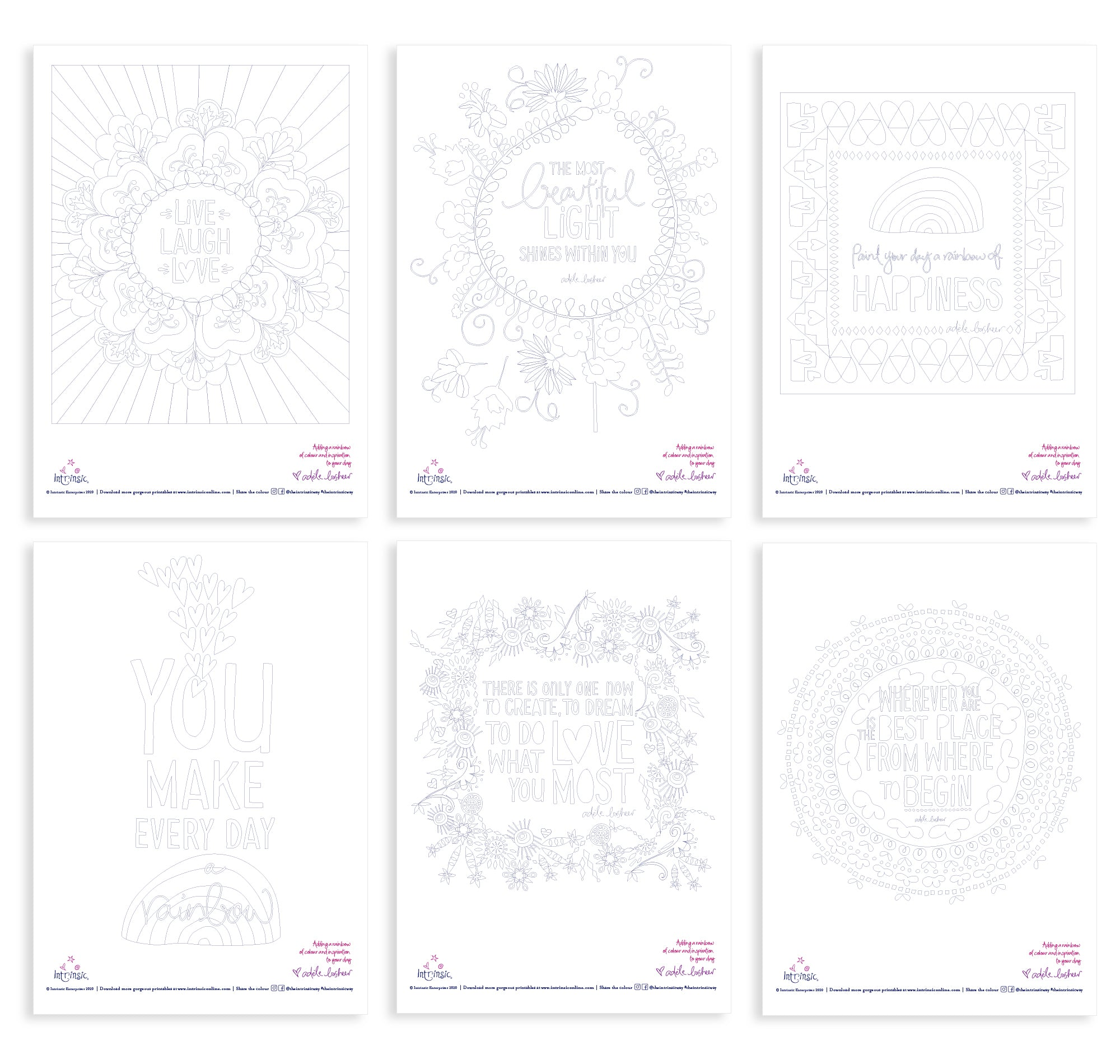 Intrinsic Printable Colouring In Downloads