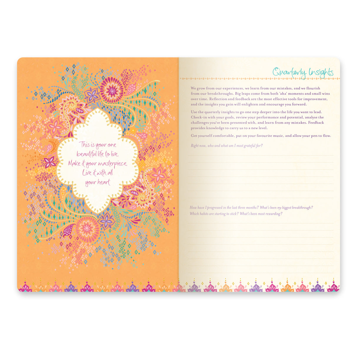 Do Not Crush List 2020.2020 Coral Crush Diary Planner Journal Joy Happiness