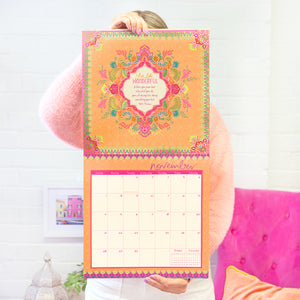 Intrinsic 2021 Cherish Calendar with inspirational Adèle Basheer quotes and motivational messages for new beginnings and joy and happiness