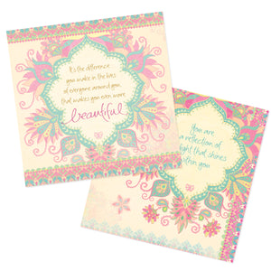 Intrinsic Beautiful Angel Quote Book