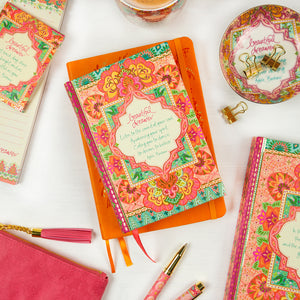 Intrinsic Coral Beautiful Dreamer Boho Stationery
