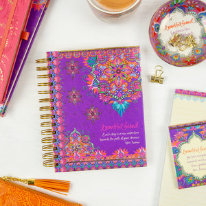 Intrinsic Gifts Purple Stationery for Friends