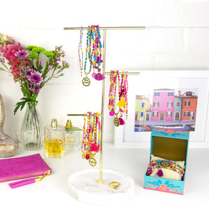 Intrinsic's Adèle Basheer Colourful Beaded Bliss Bracelet and Jewellery Collection