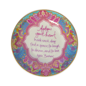 Follow Your Heart Trinket Dish