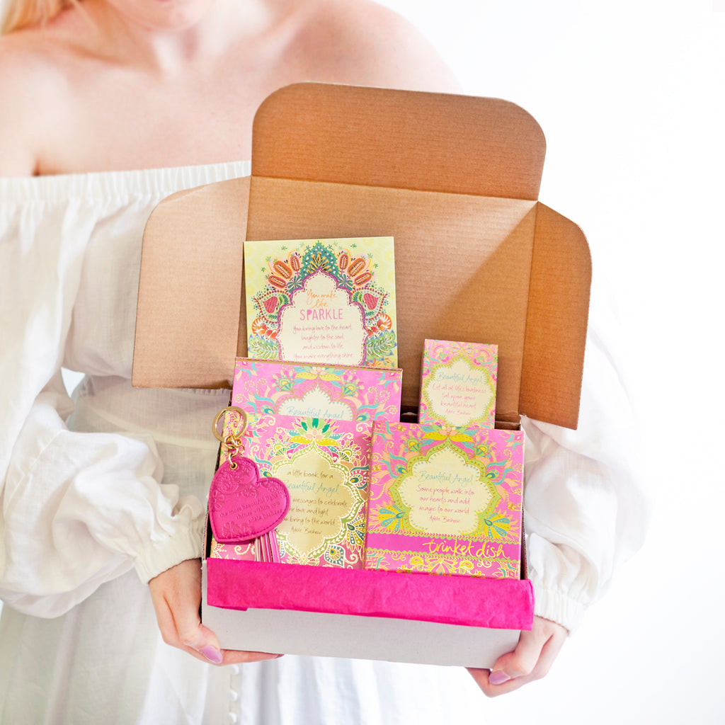 Intrinsic Beautiful Angel Self Care Pink Gift Pack