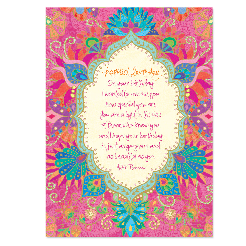 Intrinsic-Happiest Birthday Greeting Card