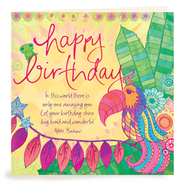 Intrinsic Birthday Amazing You Greeting Card
