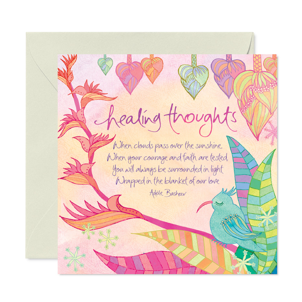 Intrinsic Sympathy & Healing Thoughts Illustrated Greeting Card