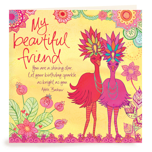 Surprising Birthday Beautiful Friend Greeting Card Intrinsic Funny Birthday Cards Online Inifodamsfinfo