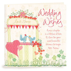 Intrinsic Wedding Wishes Greeting Card