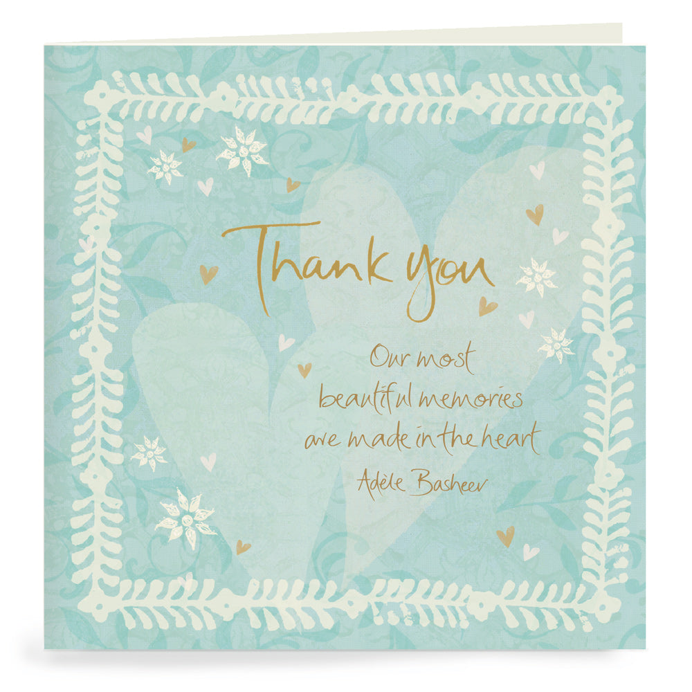 From The Heart Thank You Cards Set of 20