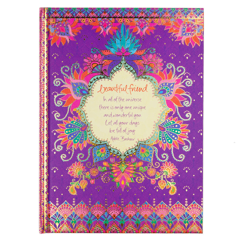 Beautiful Friend A5 Journal Inside Design