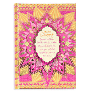 Intrinsic You Are Amazing A5 Journal Cover