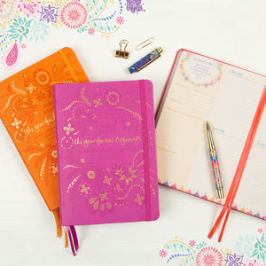 Intrinsic's Adèle Basheer Daily Planner, Diary and Organiser with positivity messages