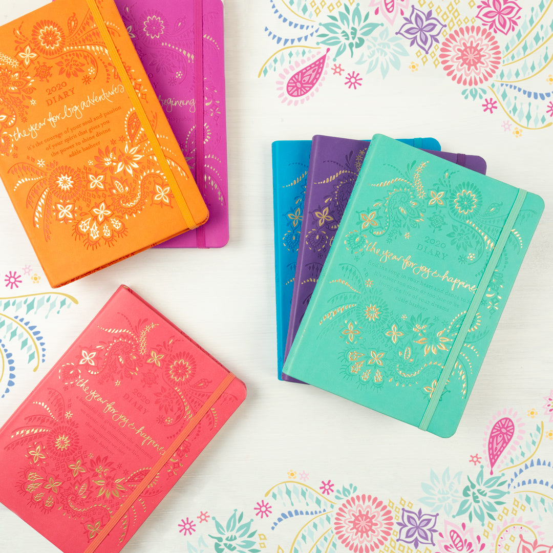 tahitian turquoise diary planner journal joy happiness