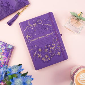 Intrinsic 2020 Colourful Diaries / Planners / Organisers - Purple Diary