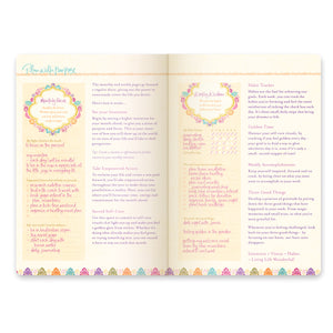 2021 Tahitian Turquoise Diary + Planner - The Year for New Beginnings